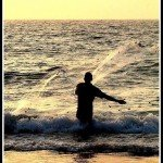 @instagram: Let the sea... set you free... #thenomadsouls #goa #calangute #beach