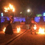 @instagram: #Arpora#saturday night market#fire artist