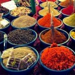@instagram: Spices #goa #market #spices #colors #india #exploring #aroundtheworld #arpora #traveling @gaudimusic