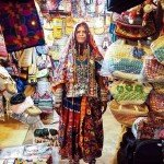 @instagram: We love this magnificent portrait of one of the many colourful personalities selling their wares at the Saturday Night Market in Goa, India. With meandering lanes upon lanes of kiosks snaking through this vast open field this retro styled hippy and artisa
