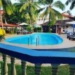 @instagram: off to work!! miss waking up to this view every morning#goa#calangute