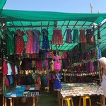 @instagram: #goa #india #holiday #baga #arpora #giftstothegods #colour #music #people #celebration #celebrate #culture #gettinginvolved #anjuna #anjunamarket #market