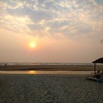 mandrem goa beach
