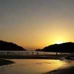 @instagram: #sunsets are made of these! #goa #lifeincolor #infinity #palolem