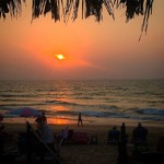 @instagram: #IndianSunset #Candolim #Goa #India #Bharat