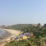 @instagram: #vagator #vagatorbeach #goa #goabeach #incredibleindia