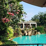 @instagram: #theleelagoa #amazinghotels #mobor #cavelossim #goa #india #workinginthesun #thegoaexperience #swimmingpool #beautifulview #serenity #travel #wanderlust