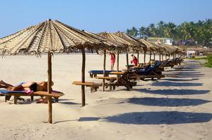 Пляж Ашвем - Северный Гоа. Пляжи и океан в Гоа