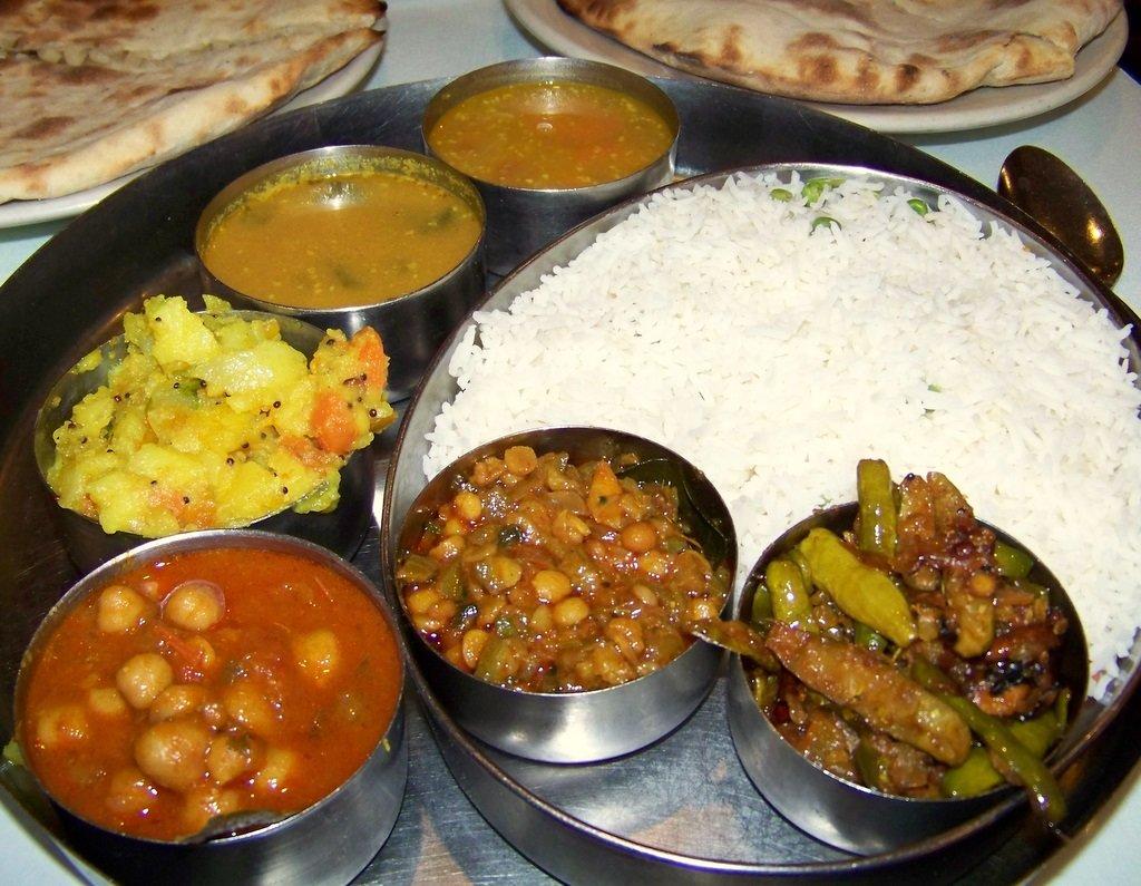 A typcial Goan thali. Image Courtesy: GoaVilla